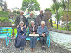 Society members at Portmeirion